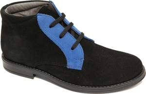 Blublonc Black Blue Suede 1281