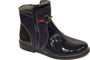 Blublonc Blue Patent Boot 264