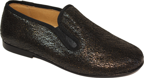 Hoo Black Shimmer Smoking Slip on 2272