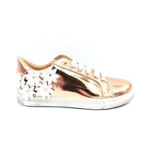 Confetti Rose Gold Flower Sneaker 3415