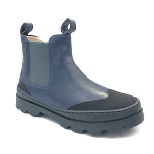 Camper Navy Leather Boot k900214