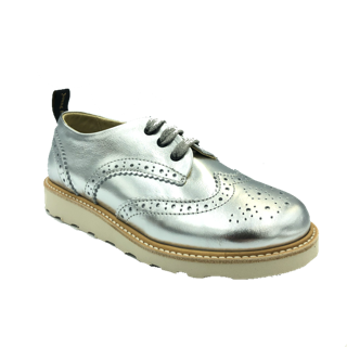 Young Soles Brando Silver Oxford