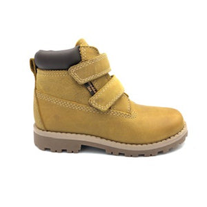 Froddo Yellow Mustard Velcro Waterproof Boot G3110137