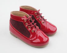 Anchor and Fox Crimson Red Windsor Boot