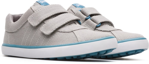 Camper Light Grey Velcro Sneaker