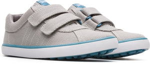 Camper Light Grey Velcro Sneaker K800117