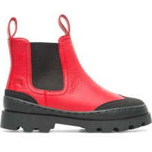 Camper Red Leather Boot K900214