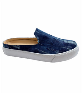 Amiana Denim Blue Sneaker Mule A5438