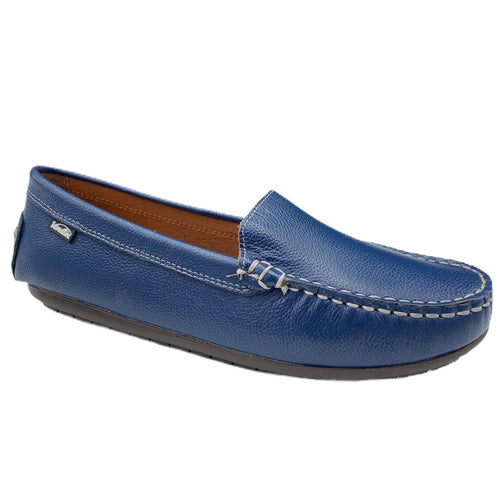 Venettini Gordy Blue Zillow Loafer Moccasin M0054
