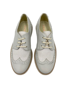 Confetti Light Grey Lace Up Shoe 7200