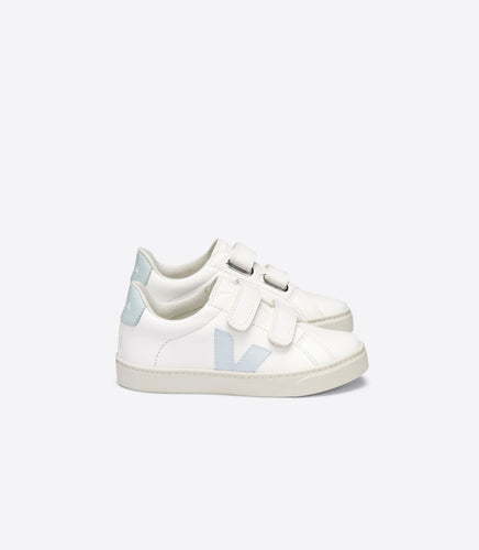 Veja Light Blue White Velcro Sneaker 2198
