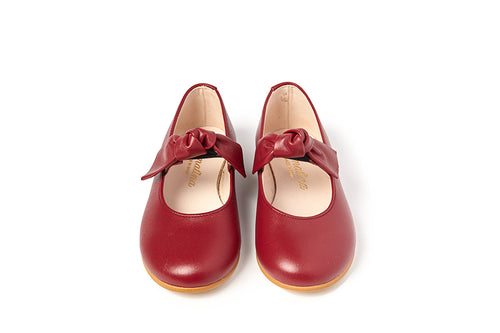 Sonatina Bonbon Red Bow Shoe