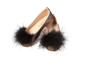 Sonatina Wishful Copper Feather Slip On