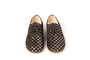 Sonatina Duke Copper Black Lace Shoe