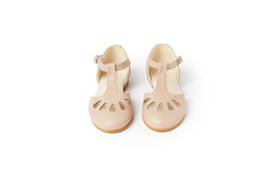 Sonatina London Ivory Sand Ankle Strap