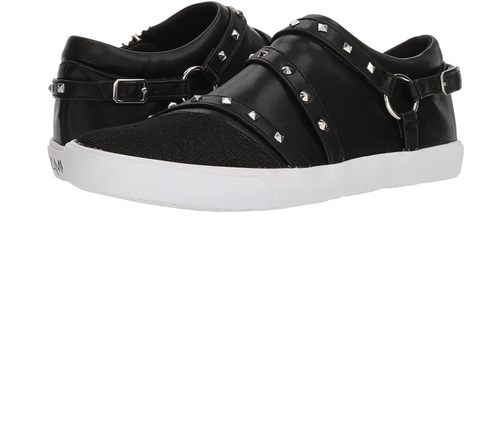 Amiana Black Zipper Sneaker