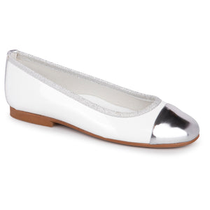 Zubii White Silver Slip On 705