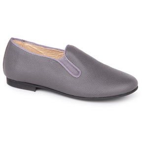 Andanines Grey Smoking Slip On 182447