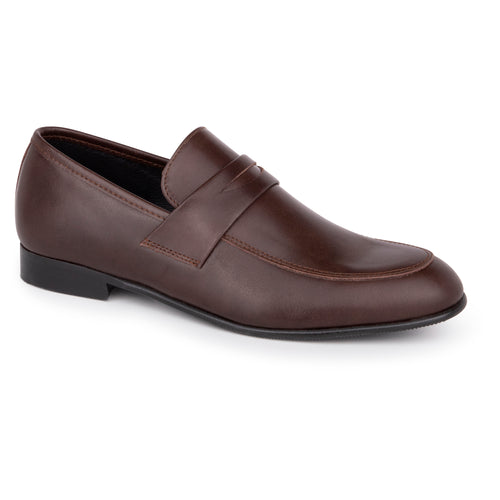 Andanines Dark Brown Penny Loafer Dress Shoe 78530