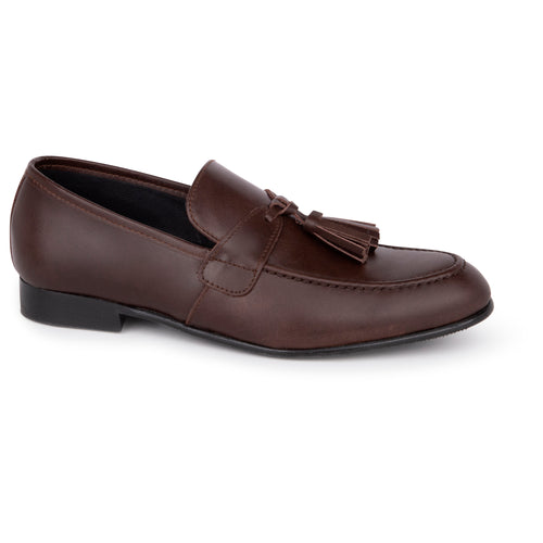 Andanines Dark Brown Tassel Dress Shoe 78950