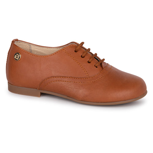 Andanines Cognac Lace Up Shoe 201732