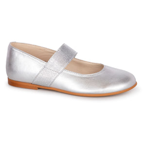 Sonatina Brooklyn Silver Elastic Mary Jane