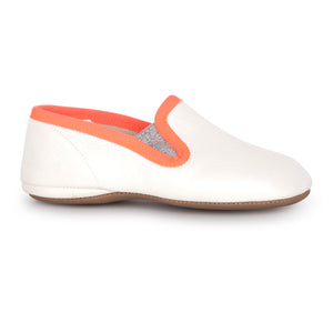 Pepe' White Coral Slip On 280