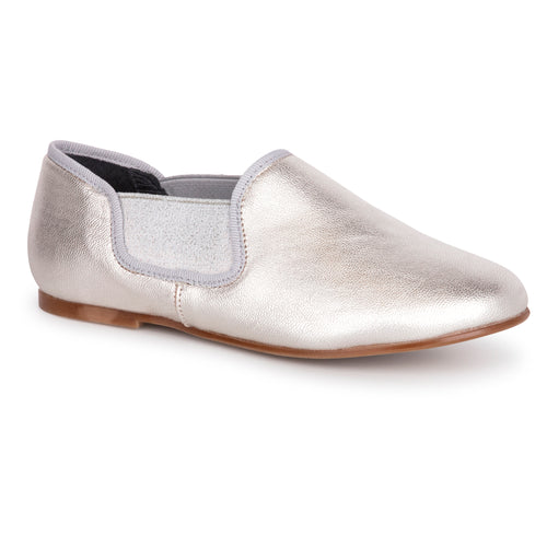 Blublonc Pearl Silver Loafer 4370