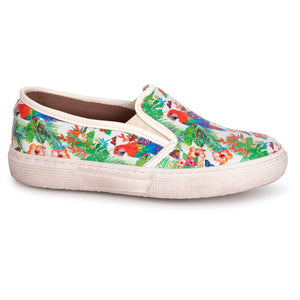 Pepe' Parrot Jungle Slip On Sneaker 775