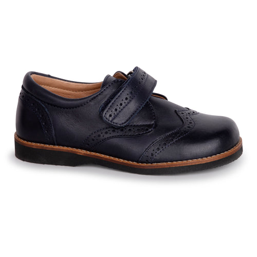 TNY Navy Strap Oxford 13697