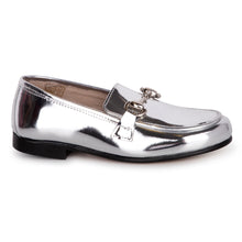 Hoo Silver Mirror Chain Loafer 2000