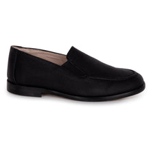 Hoo Black Textured Loafer 2279