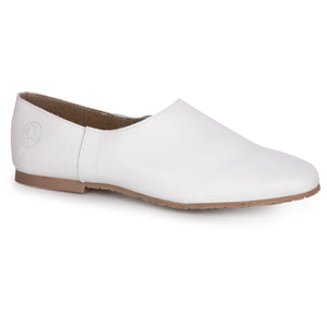 LMDI White Leather Loafer SS2026
