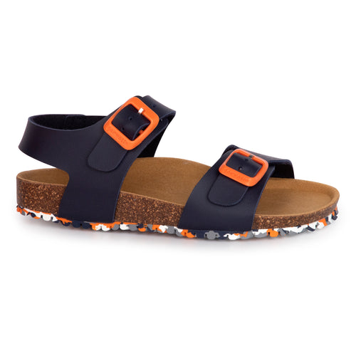 Garvalin Navy Orange Sandal 202475