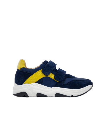 Acebos Navy Velcro Strap Sneakers 5347