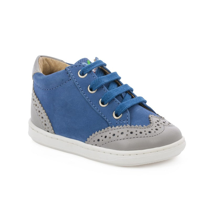 Shoo Pom Bouba Zip Golf Nubuck Regatta Sky Grey