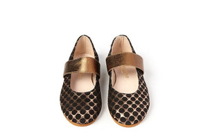 Sonatina Copper Black slip on Brooklyn
