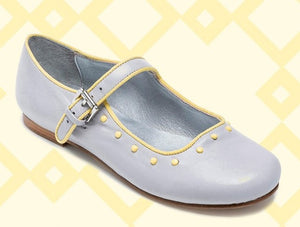 Bellusa Clem Mary Jane in Grey. **Final Sale