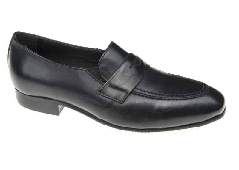 Venettini Leo Black Dress Shoe