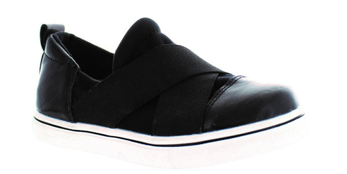 Bernie Mev Elmwood Black Slip-on Sneaker