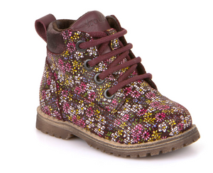 Froddo Flower Bootie (Side Zipper Closure)