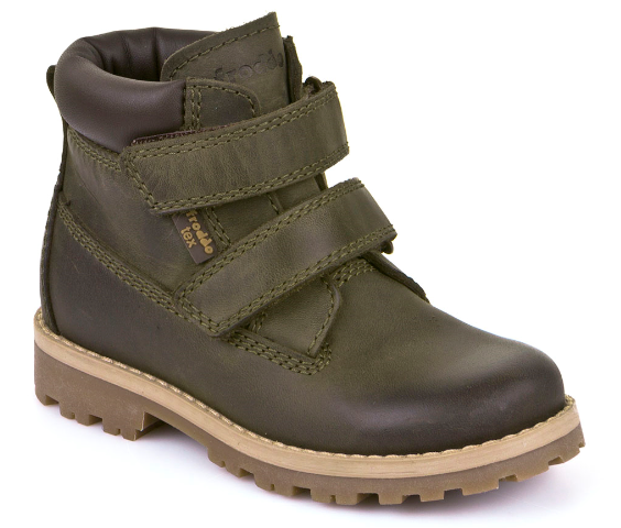 Froddo Tex Green Velcro Waterproof Boot G3110114
