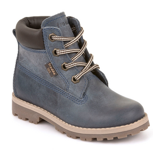 Froddo Tex Denim Blue Waterproof Lace Up Boot G3110113