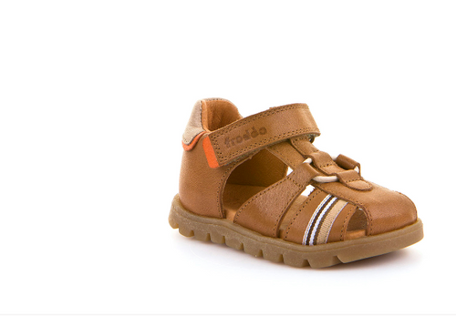 Froddo First Walker Toddler Tan Closed Toe Sandal G2150099
