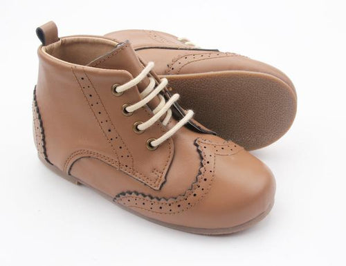 Anchor and Fox  Chestnut Cambridge Brogue