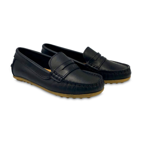 Confetti Black Penny Loafer 6800