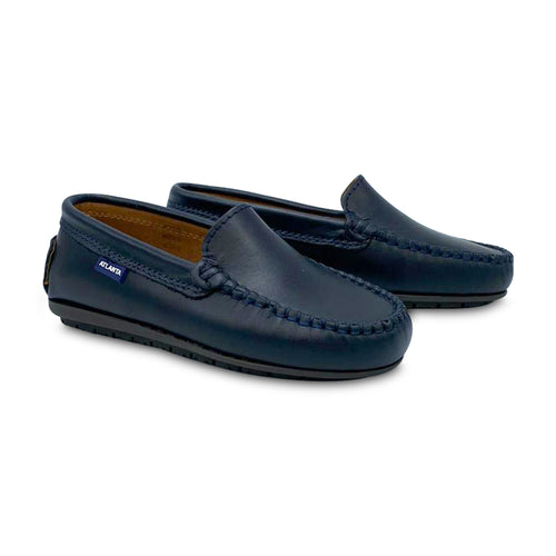 Atlanta Moccasin Midnight Blue Loafer 18378