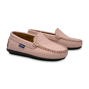 Atlanta Mocassin Light Pink Star Loafer 18527