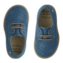 Manuela Blue Lined Derby Laced