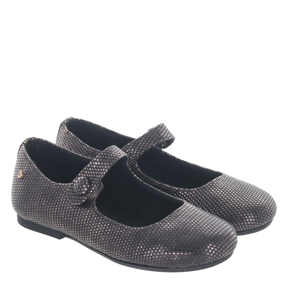 Manuela De Juan Copper Dotted Mary Jane S2108